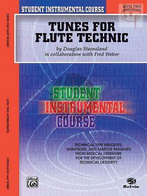 Tunes for Flute Technic Level 2