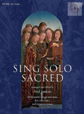 Sing Solo Sacred (Low Voice )