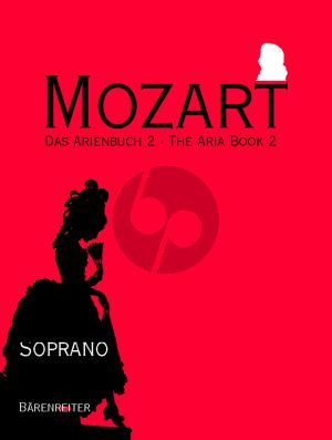 Mozart Arienbuch Vol.2 Sopran (Charlotte Lehmann) (Barenreiter-Urtext)
