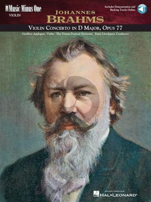 Brahms Violin Concerto D-Major Op.77 (Bk-Cd) (MMO)
