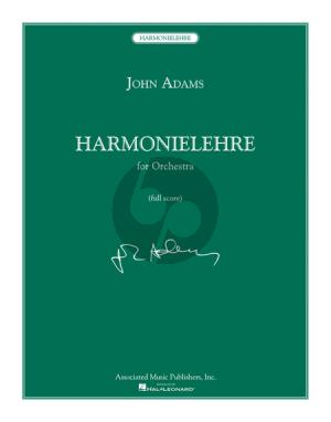 Adams Harmonielehre for Orchestra Fullscore