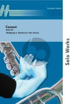 Mozart Concerto KV 191 Tuba-Piano (transcr. Ber Joosen)