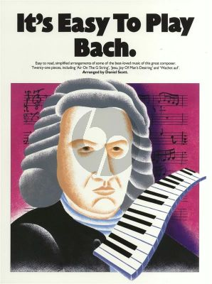 It's Easy to Play Bach Piano (edited by Daniel Scott)