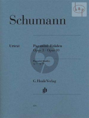 Paganini Etuden Op.3 & Op.10