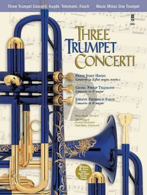 3 Trumpet Concerti Book with 2 Cd DeLuxe Set) (MMO)