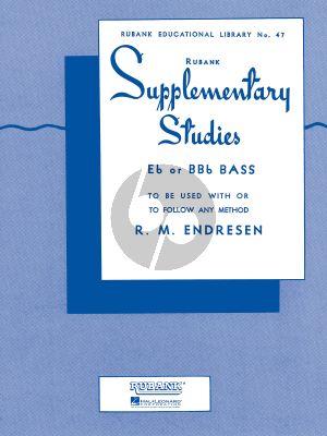 Endresen Supplementary Studies for Bass / Tuba in C (BC)
