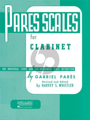 Scales for Clarinet