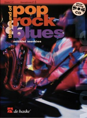 Merkies Sound of Pop, Rock & Blues Vol.1 Alto Saxophone Book wit Cd