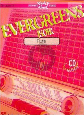 Evergreens for Flute (grade 3) (Bk-Cd)