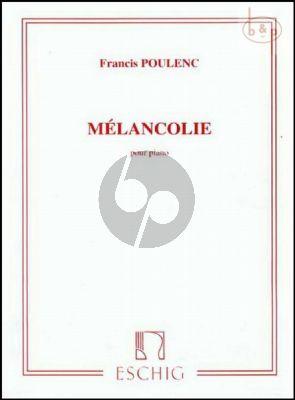 Melancolie Piano solo