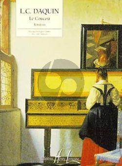 Daquin Le Coucou Piano solo (edition facile par H.G. Heumann)