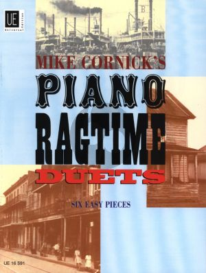 Cornick Piano Ragtime Duets (6 Pieces) (grade 3)
