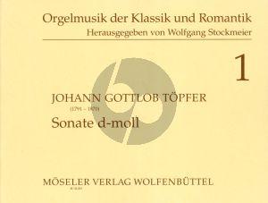 Topfer Sonate d-moll Orgel (Wolfgang Stockmeier)