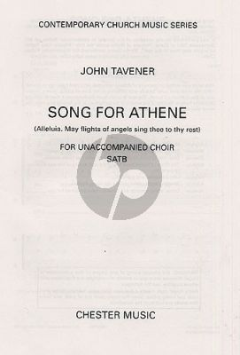 Songs for Athene SATB