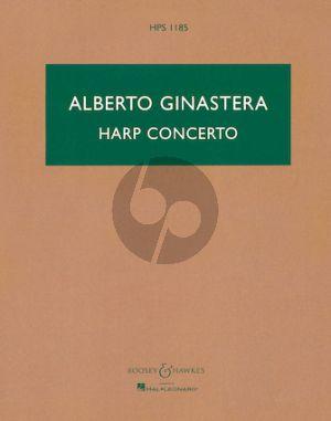 Ginastera Concerto for Harp and Orchestra Study Score