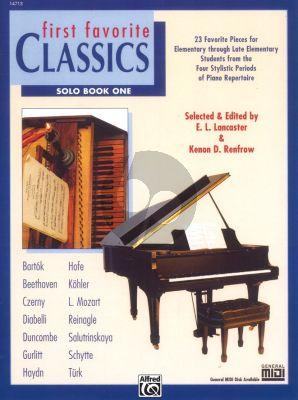 First Favorite Classics Vol.1 Solo Book