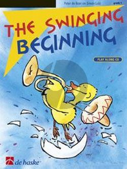 Boer-Lutz Swinging Beginning Alto or Baritone Saxophone (Een speelboek voor beginnende blazers) (Bk-Cd)