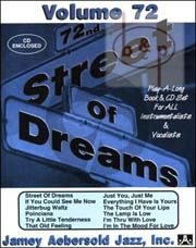 Jazz Improvisation Vol.72 Street of Dreams