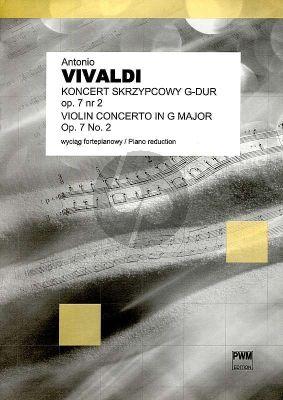 Vivaldi Concerto G major Op.7 No.2 Violin and Piano (arranged by Felinski Zenon and Szebalin) Nabestellen