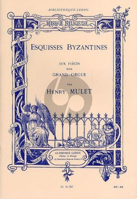 Esquisses Byzantines Orgue