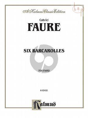 6 Barcaroles