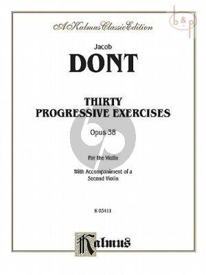 30 Pogressive Exercises Op.38