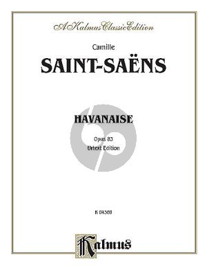 Saint-Saens Havanaise E-major Op.83 Violin-Piano