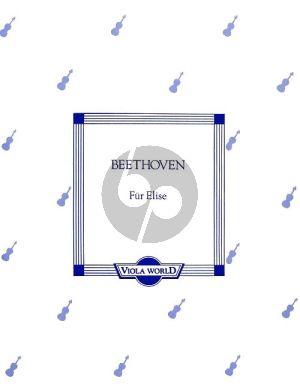 Beethoven Fur Elise Viola-Piano (transcr. by Alan Arnold)