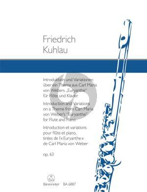 Introduktion & Variationen uber ein Thema aus Webers Euryanthe