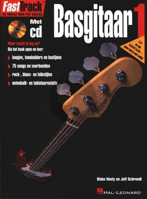 Neely-Schroedl FastTrack Basgitaar Vol.1 Book with Cd (Nederlandse uitgave)