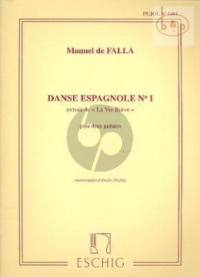 Danse Espagnole No.1 (de La Vie Breve)