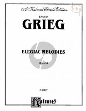 Grieg Elegiac Melodies Op.34 (arr. for Cello and Piano)