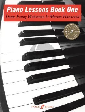 Waterman-Harewood Piano Lessons Vol.1