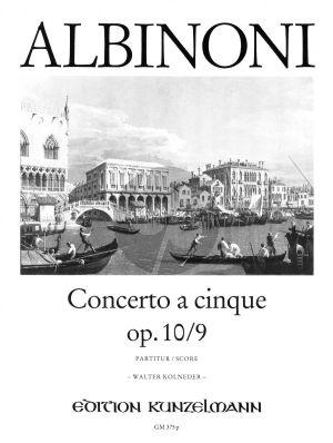 Concerto F-dur Op.10 / 9 Violine-Streicher-Bc