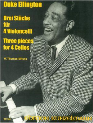 Ellington 3 Pieces Vol.1 4 Violoncellos (Score/Parts) (Thomas-Mifune)