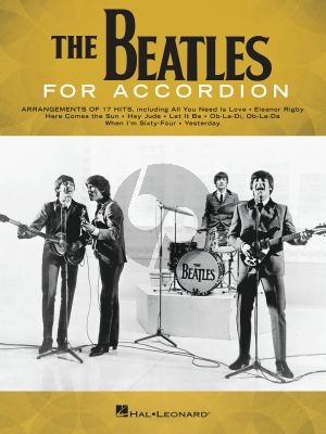 The Beatles for Accordion (transcr. by Gary Meisner)
