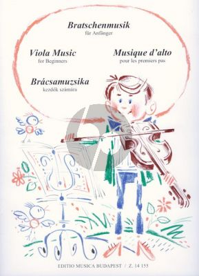 Viola Music for Beginners (edited by Ferenc Bartha) (transcr. by Steven Loy)
