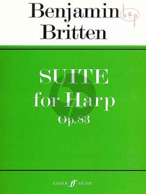 Suite Op.83 for Harp