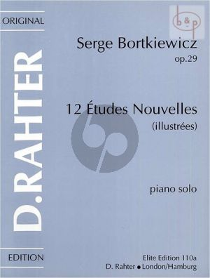 12 Etudes Nouvelles Op.29