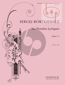 6 Pensees Lyriques Op.11