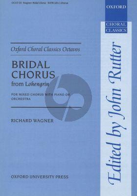 Bridal Chorus SATB-piano