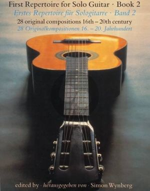 First Repertoire Solo Guitar Vol.2 (edited by Simon Wynberg)