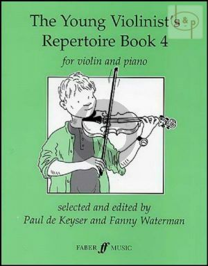 Young Violinist's Repertoire Book Vol.4