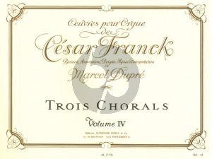 Franck Oeuvres Completes Vol. 4 pour Orgue (Marcel Dupre)