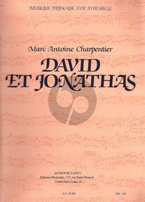 Charpentier David et Jonathas H. 490 Partition