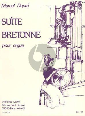Dupre Suite Bretonne Opus 21 Orgue