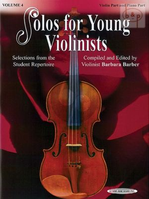 Solos for Young Violinists Vol.4 Violin - Piano