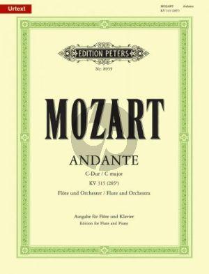 Mozart Andante C-dur KV 315 Flöte-Klavier (Andreas Schenck)