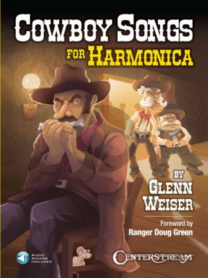 Weiser Cowboy Songs for Harmonica (Book with Audio online)