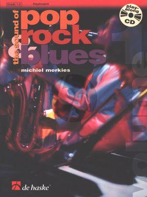 Merkies Sound of Pop-Rock-Blues Vol.1 Keyboard (Bk-Cd)